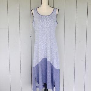 COLUMBIA Lavender Two-Tone Tank Top Midi Dress